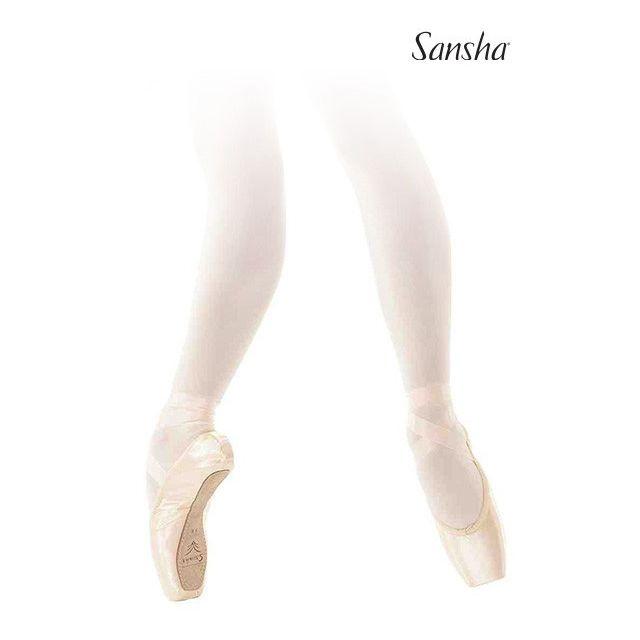 Sansha pointe shoes leather sole MYRTHA D106SL
