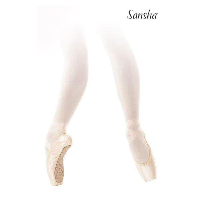 Sansha pointe shoes leather sole ONDINE D107SL