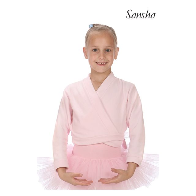 Sansha Wrap-over top LUCY F01F