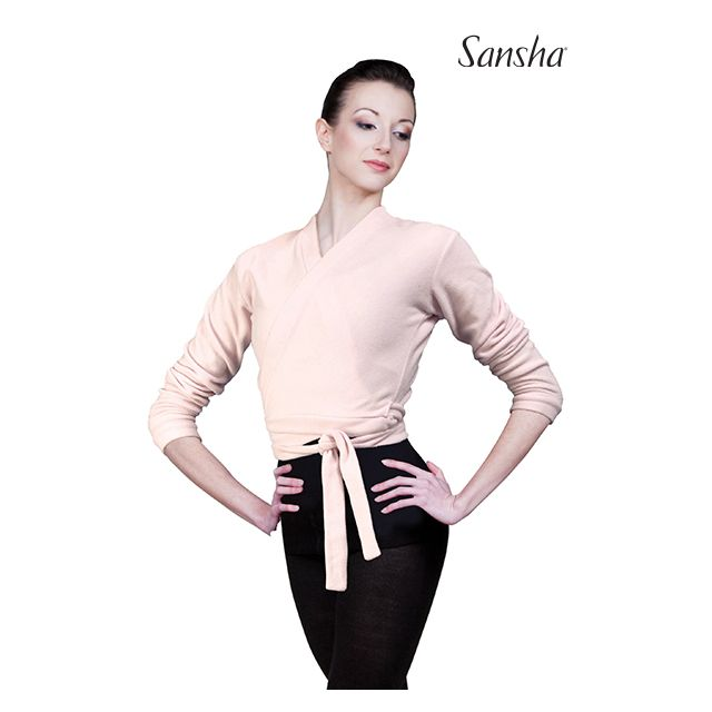 Sansha Ballerina wrap sweater LUCILLE E11F