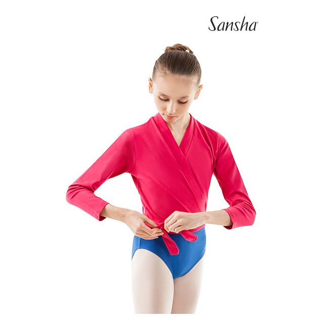 Sansha ballerina wrap sweater CANDY E22C