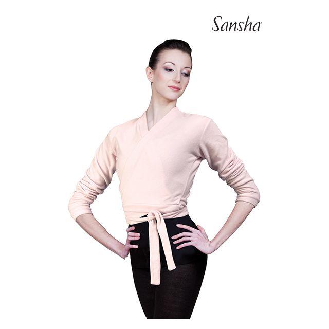 Sansha Ballerina wrap sweater CANDICE E23C