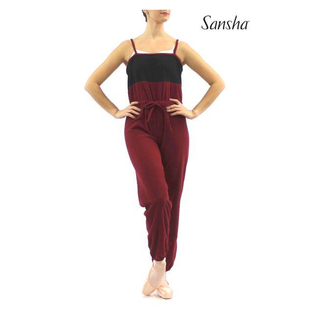 Sansha Two-tone camisole unitard GABY FE04F