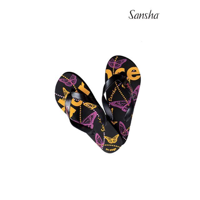 Sansha Flip-flops BUTTERFLIES FFS01