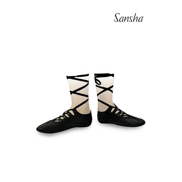 Sansha Flat ghillies shoes GHILLIES 2 GH2Lpi
