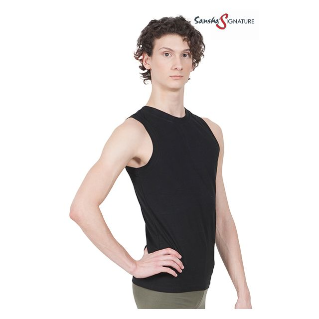 Sansha Sign men sleeveless top STEFAN H2051SN