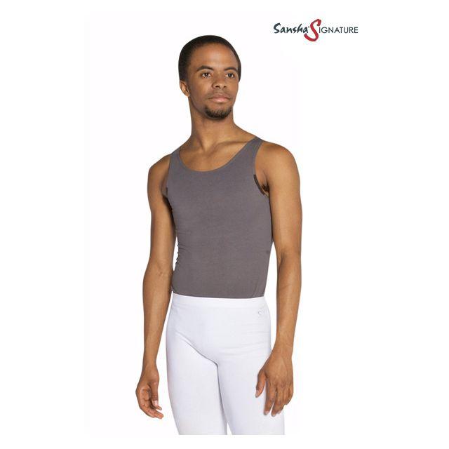 Sansha Sign men sleeveless leotard SETH H2556