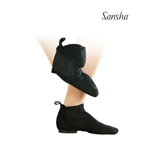 Sansha Pull-on jazz boots LIDO JB9C