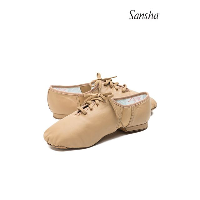 Sansha Lace-up jazz shoe TIVOLI JS1Lco