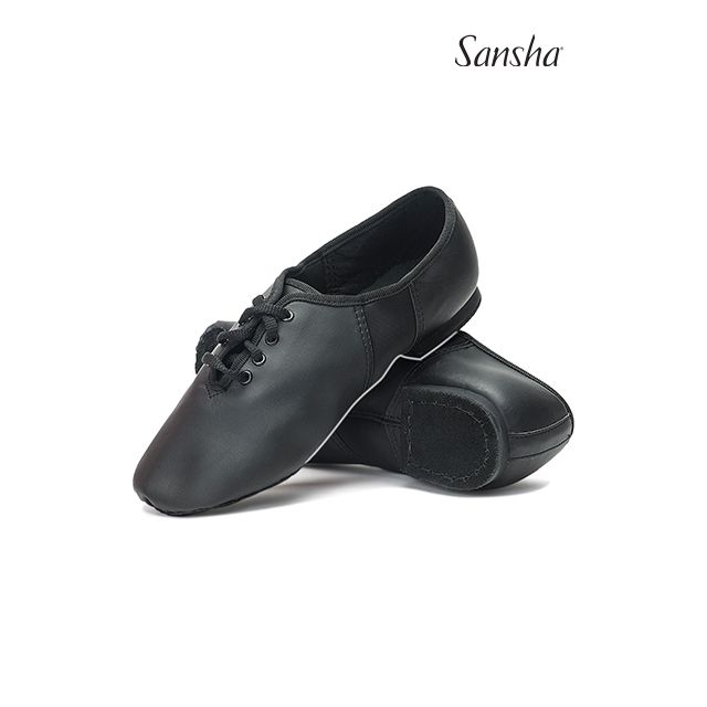 Sansha Lace-up jazz shoe TIVOLI JS2Lpi