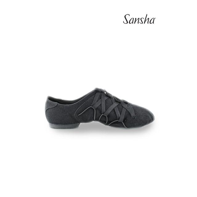 Sansha Lace-up jazz JAZZ MACHINE JS46C