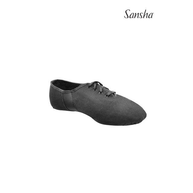 Sansha Lace-up jazz shoe TIVO-LITE JS51C