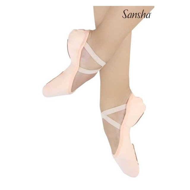 Sansha ballet slipper split sole JULIA 25C