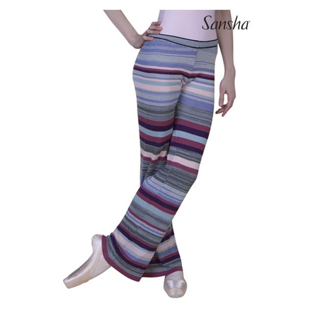 Sansha Multicolor wide leg pants FINNETTE KC0101A
