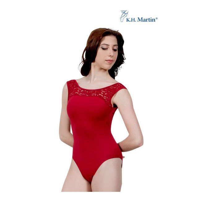 Martin sleeveless leotard mesh ARLETTE KH2562M