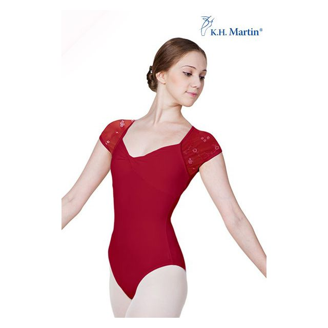 Martin short sleeve leotard AMICA KH3524M