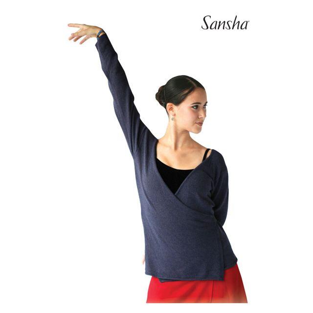 Sansha Baggy cross-over top HOLLY KS402