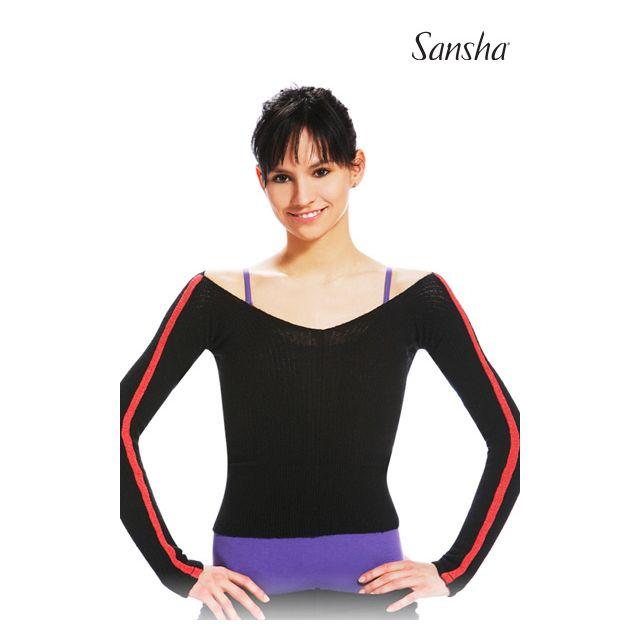 Sansha Long sleeve crop sweater CASSIA KS405