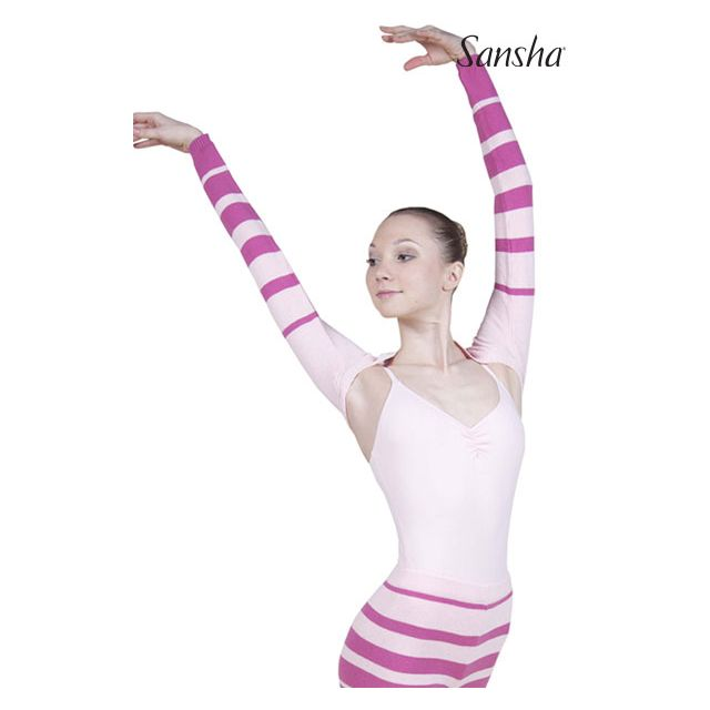 Sansha long sleeve backwarmer STARR KT4067C