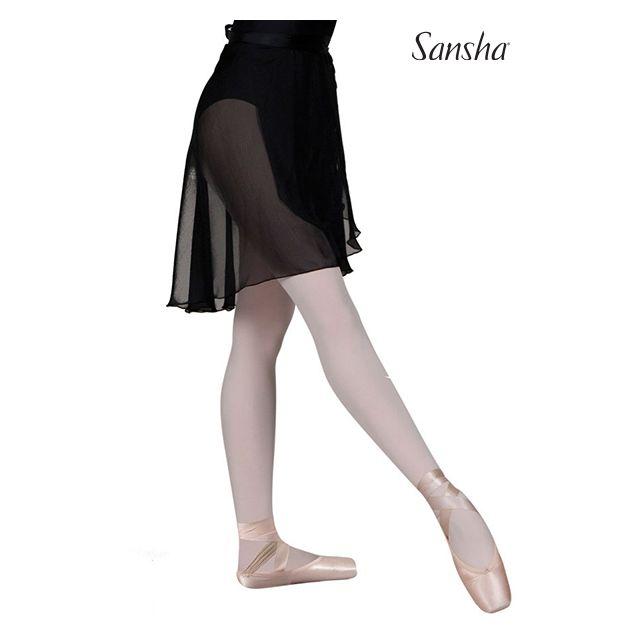 Sansha Medium length wrap skirt SALINNA L0806P