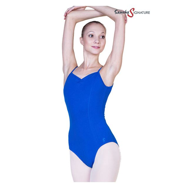 Sansha Sign camisole leotard SASHA L1554C
