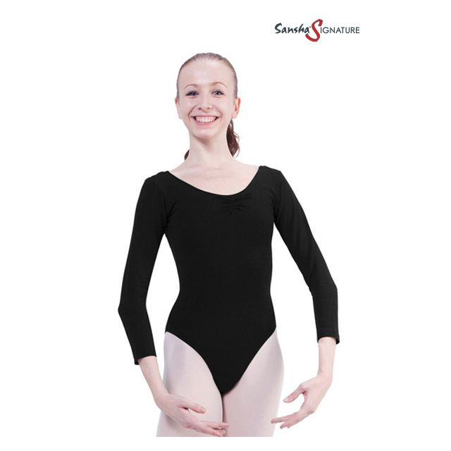 Sansha Sign 3/4 sleeve leotard SOFIA L4553C