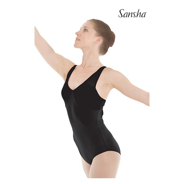 Sansha sleeveless leotard TAHOUA LE2539M