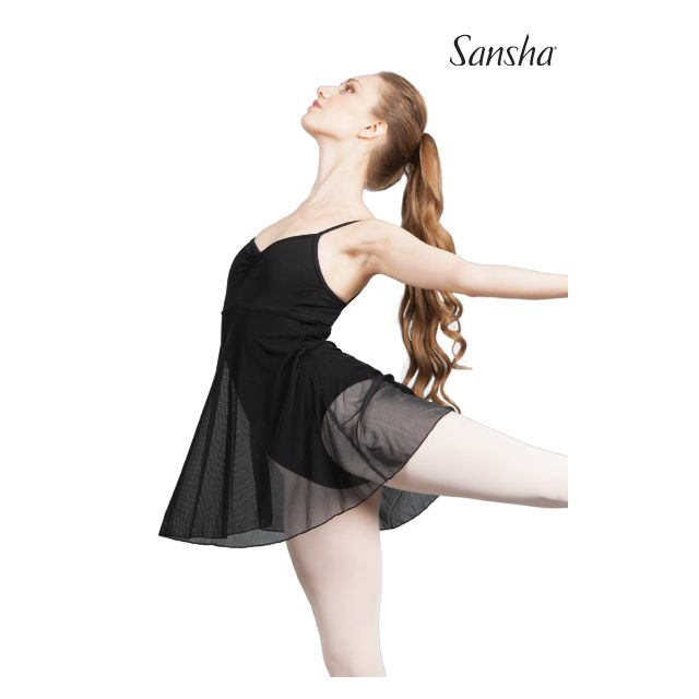 Sansha camisole leotard dress COULISSE L1710P