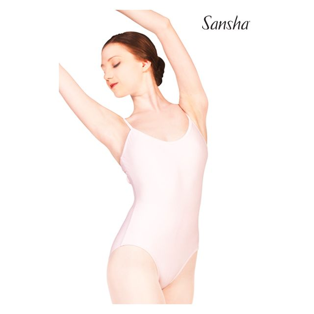 Sansha camisole leotard criss-cross TIANA LE1569T