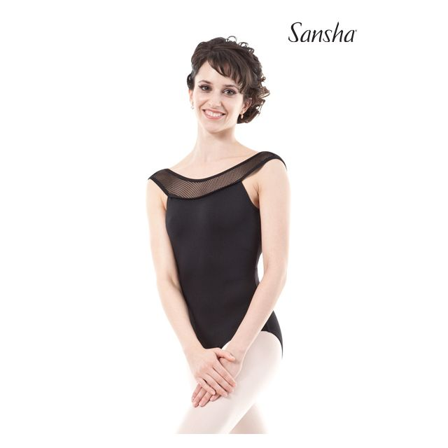 Sansha sleeveless leotard SEDUCTION LE2579M