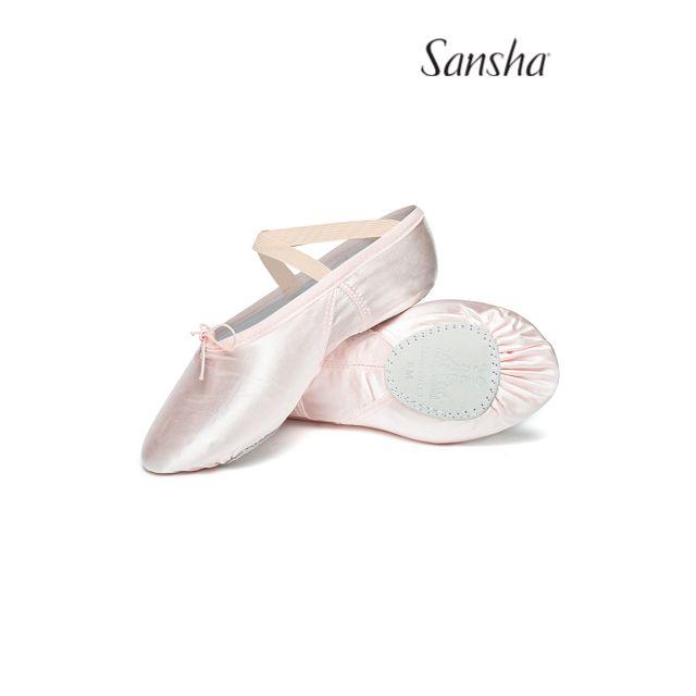Sansha excellent ballet slipper SILHOUETTE 3S