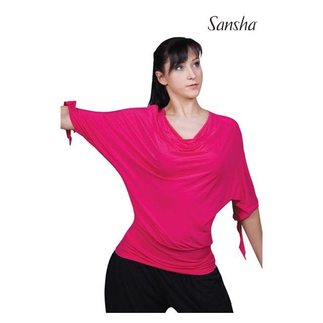 Sansha Loose 3/4 sleeve top PAULEEN PL3006R