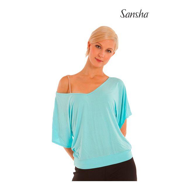Sansha Open back flowing top PALEMBANG PL3010