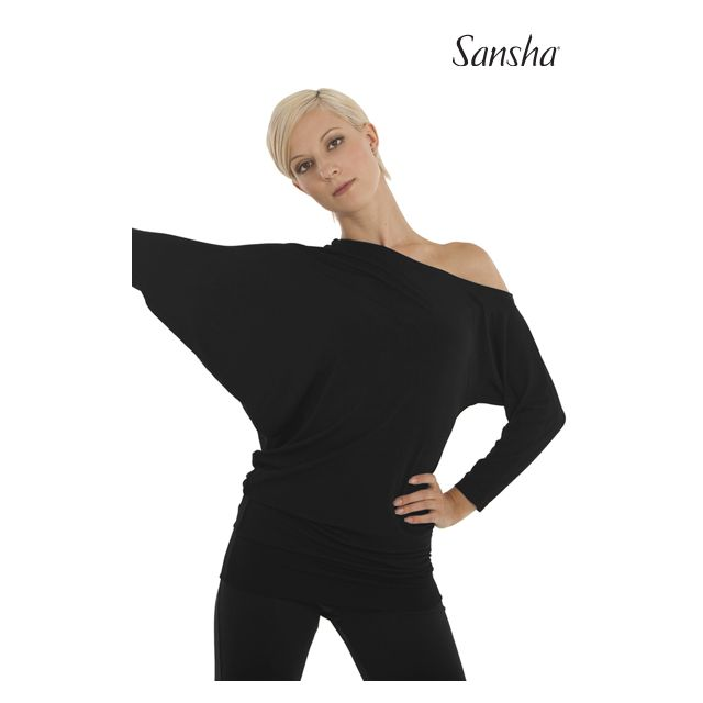 Sansha Boatneck top PARIA PL4007P