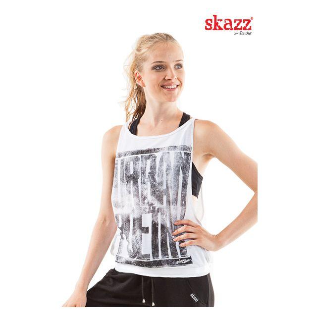 Sansha Skazz printed wide top SK1600P