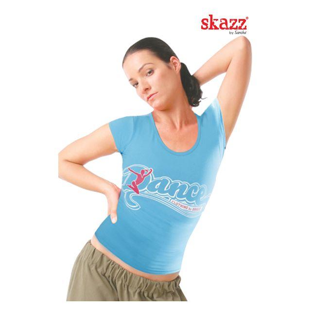 Sansha Skazz cap sleeve crop top SK3003