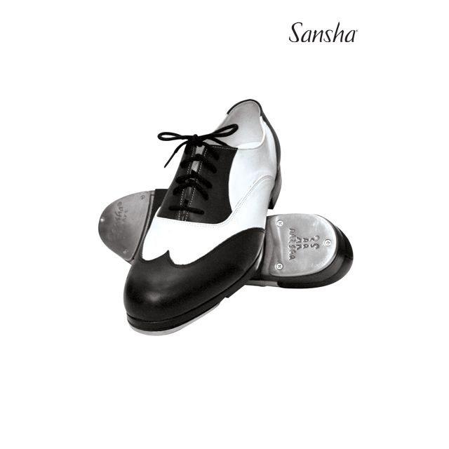 Sansha duotone tap shoes T-BOJANGO TA88L