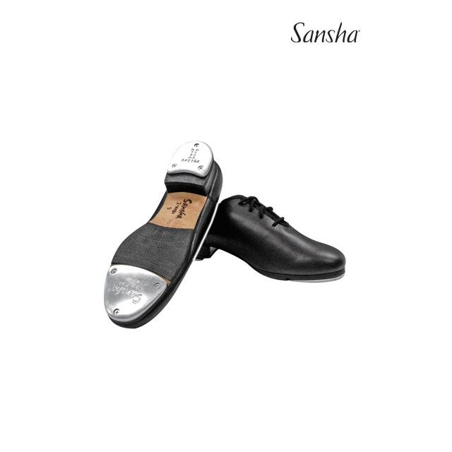 Sansha Lace-up tap shoe T-MEGA TA908L