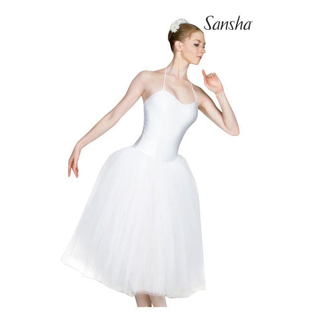 Sansha Long romantic tutu dress SYLPHIDE TF037