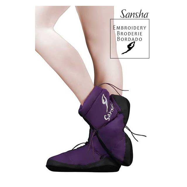 Sansha booties original JETE SIBERIA WOOM-1