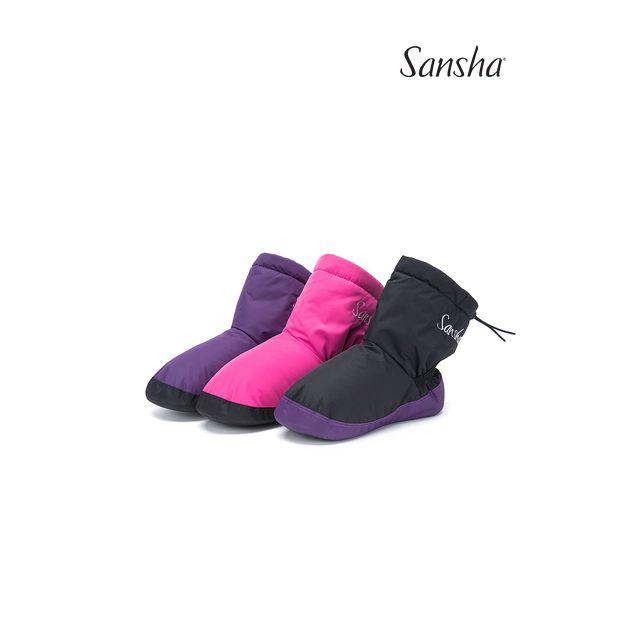 Sansha booties suede SIBERIA WOOM-1N
