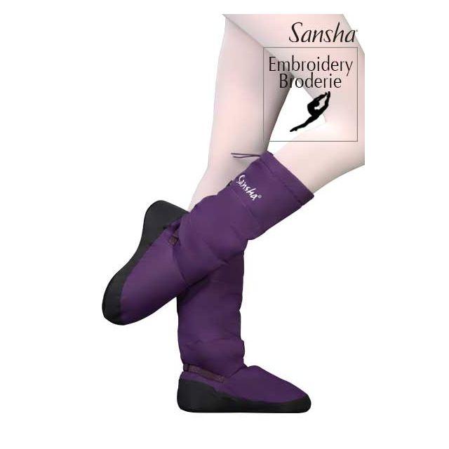 Sansha booties suede sole JETE ARTIKA WOOM-3