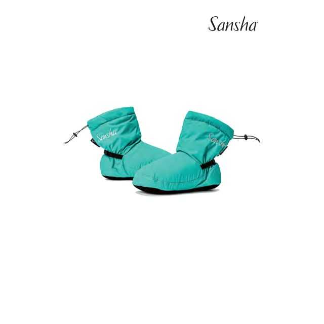 Sansha booties rubber sole FREEZE WOOZ-2N