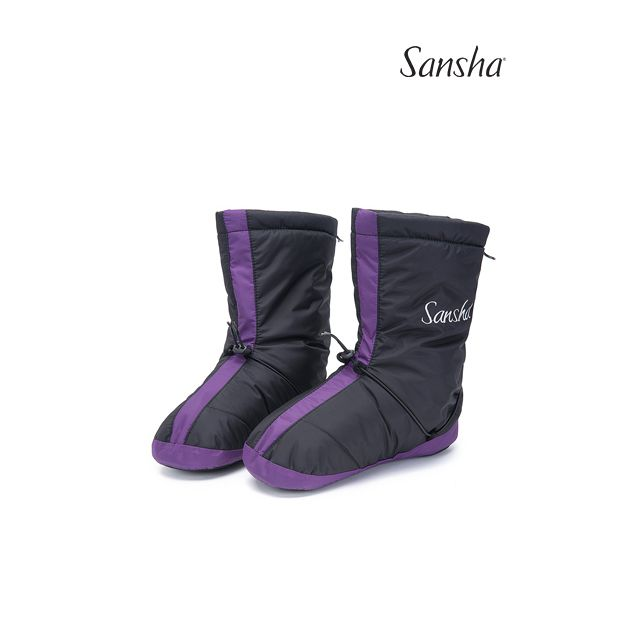 Sansha booties suede sole ICE WOOZ-3N