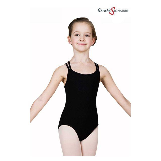 Sansha Sign girl camisole leotard STEFANI Y1559C