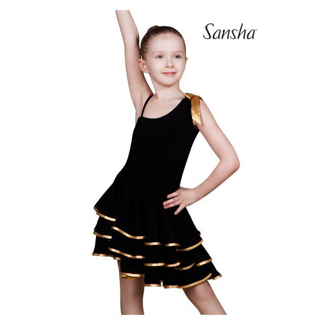 Sansha sleeveless ballroom dress BIANCA Y1709P