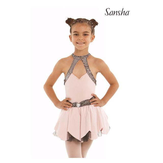 Sansha Ballroom halter dress BELLA Y1713N