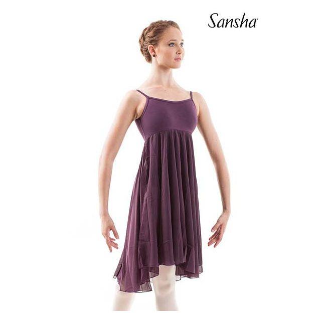 Sansha camisole dress MABEL L1804CH