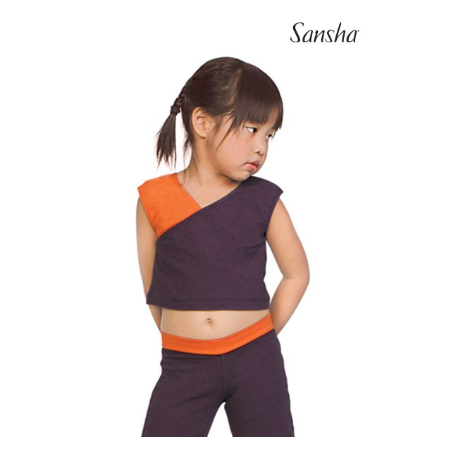 Sansha girls sleeveless crop top SIDNEY Y2020