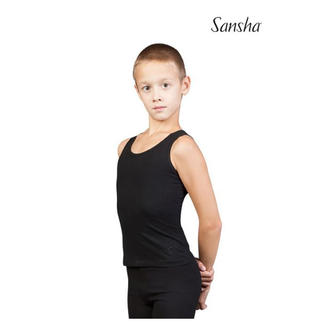 Sansha Sign boys fitted tank top JAMIE Y2052C